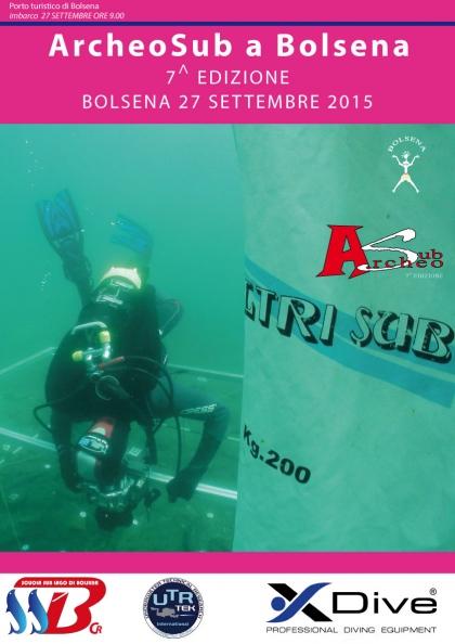 ARCHEOSUB A BOLSENA - 27 SETTEMBRE 2015 - PERCORSO NATURALISTICO ARCHEOLOGICO DI P.TA ZINGARA ISOLA BISENTINA