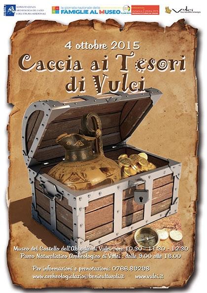 CACCIA AI TESORI DI VULCI!