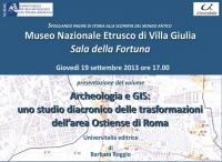 Presentazione a Villa Giulia del volume