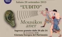 All'UDITO, terzo de I Cinque sensi +1, è dedicata l'apertura straordinaria del Museo Nazionale Etrusco di Villa Giulia