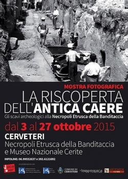 Soprintendenza Archeologia del Lazio e dell'Etruria meridionale - La riscoperta dell'antica Caere