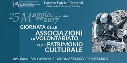GIORNATA delle  ASSOCIAZIONI DI VOLONTARIATO per il  PATRIMONIO CULTURALE